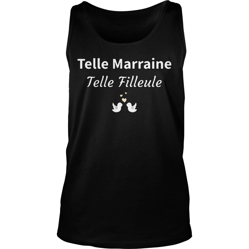 Telle Marraine Telle Filleule Tank Top
