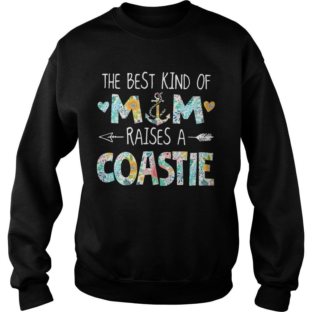 The Best Kind Of Mom Raises A Coastie Sweater