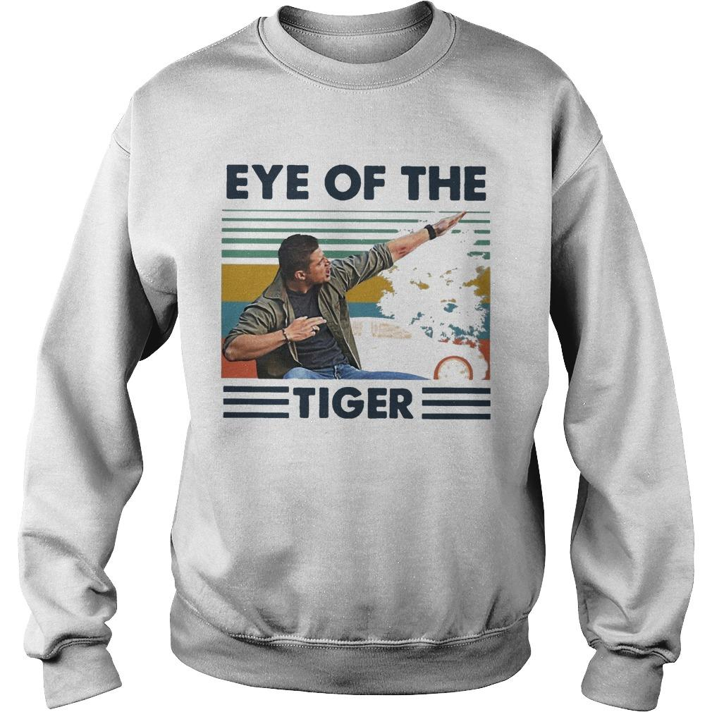 Vintage Eye Of The Tiger Sweater