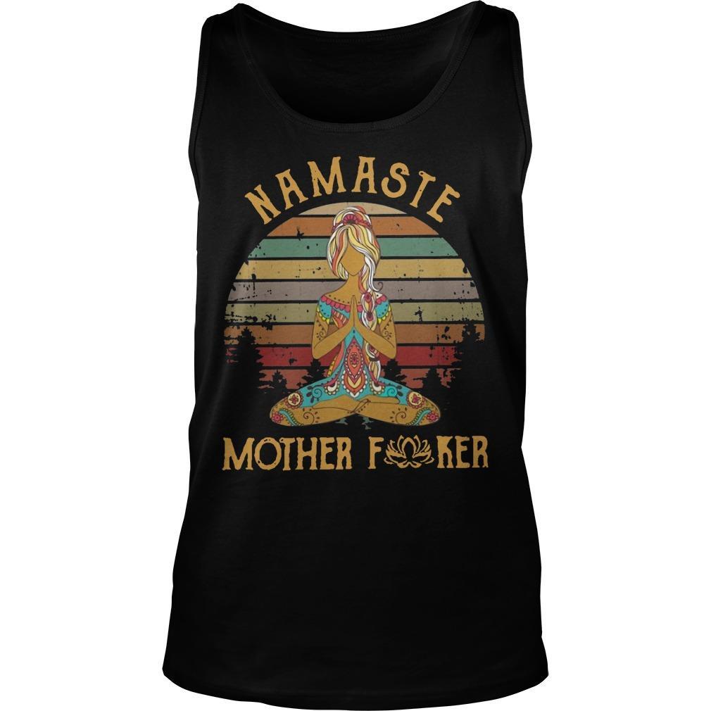 Vintage Namaste Mother Fucker Tank Top