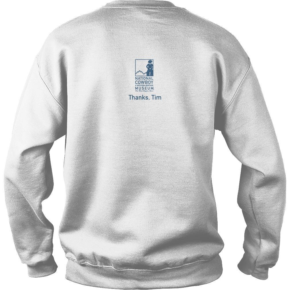 #hashtagthecowboy Thanks Tim Sweater