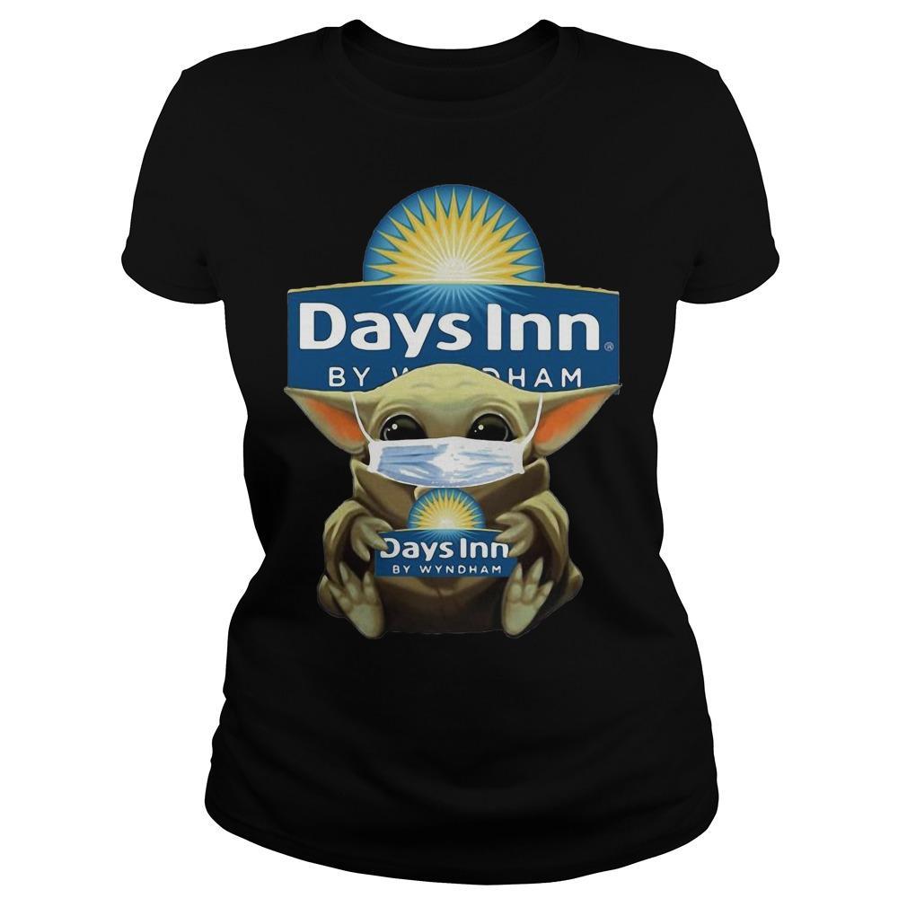 Baby Yoda Mask Hugging Days Inn By Wyndham Longsleeve