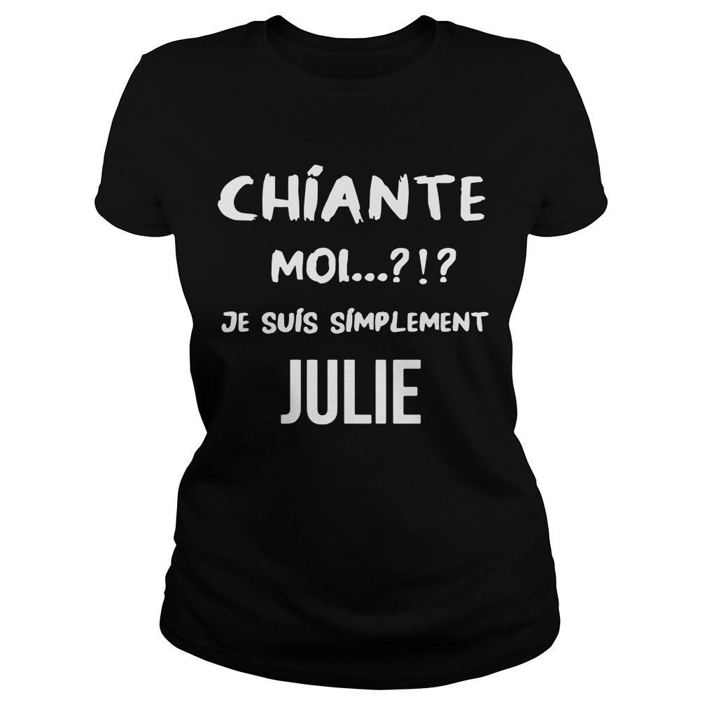 Chiante Moi Je Suis Simplement Julie Longsleeve
