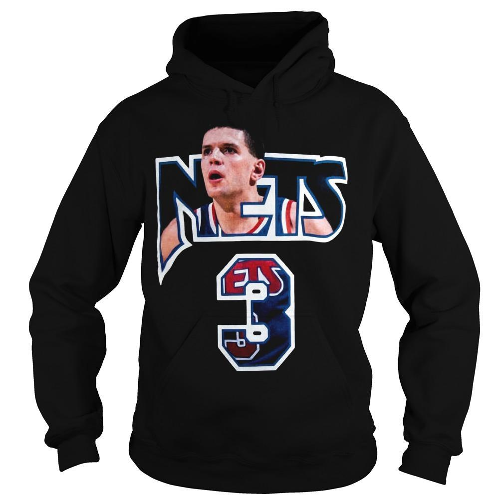 Drazen Petrovic Nets 3 Hoodie
