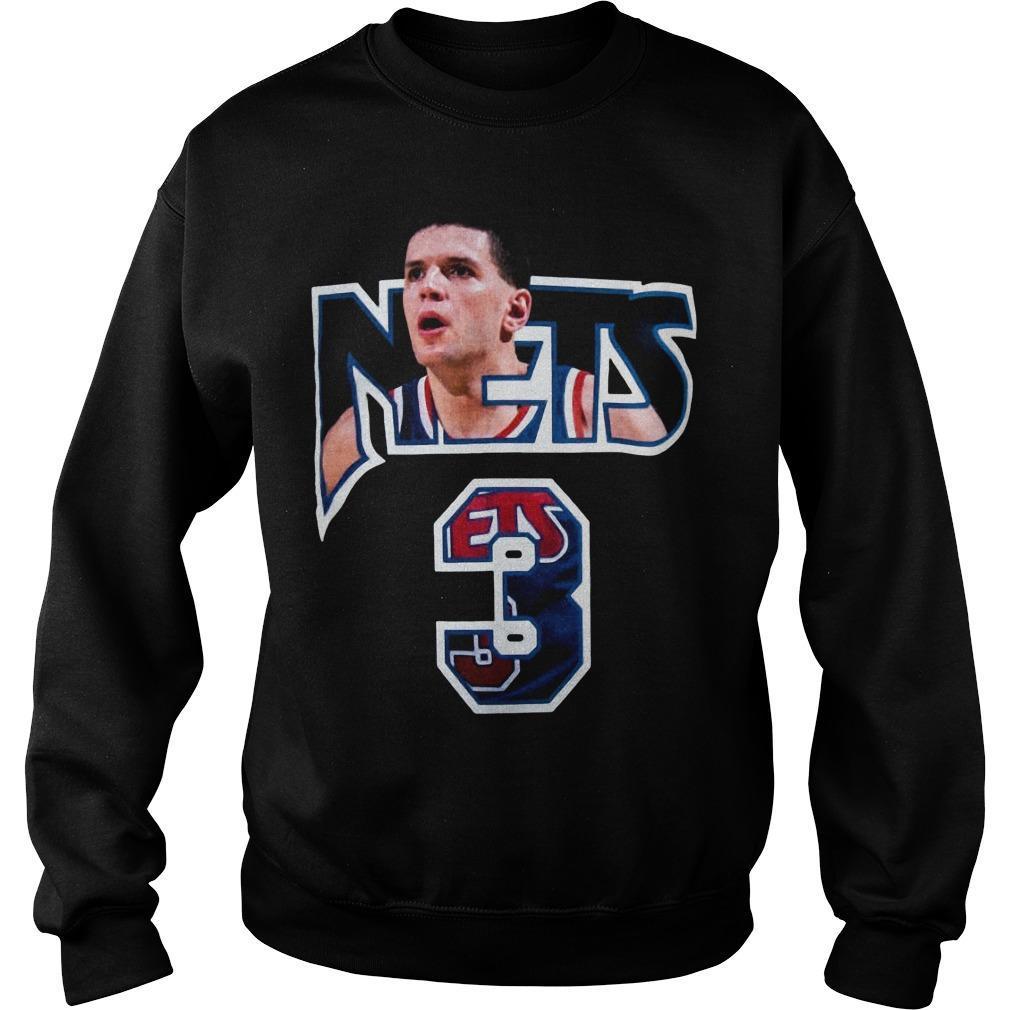 Drazen Petrovic Nets 3 Sweater