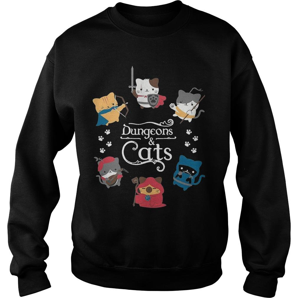 Dungeons And Cats Sweater