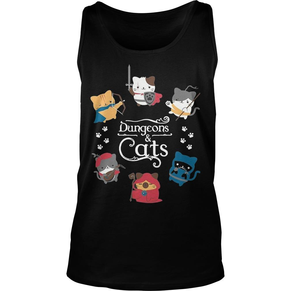 Dungeons And Cats Tank Top