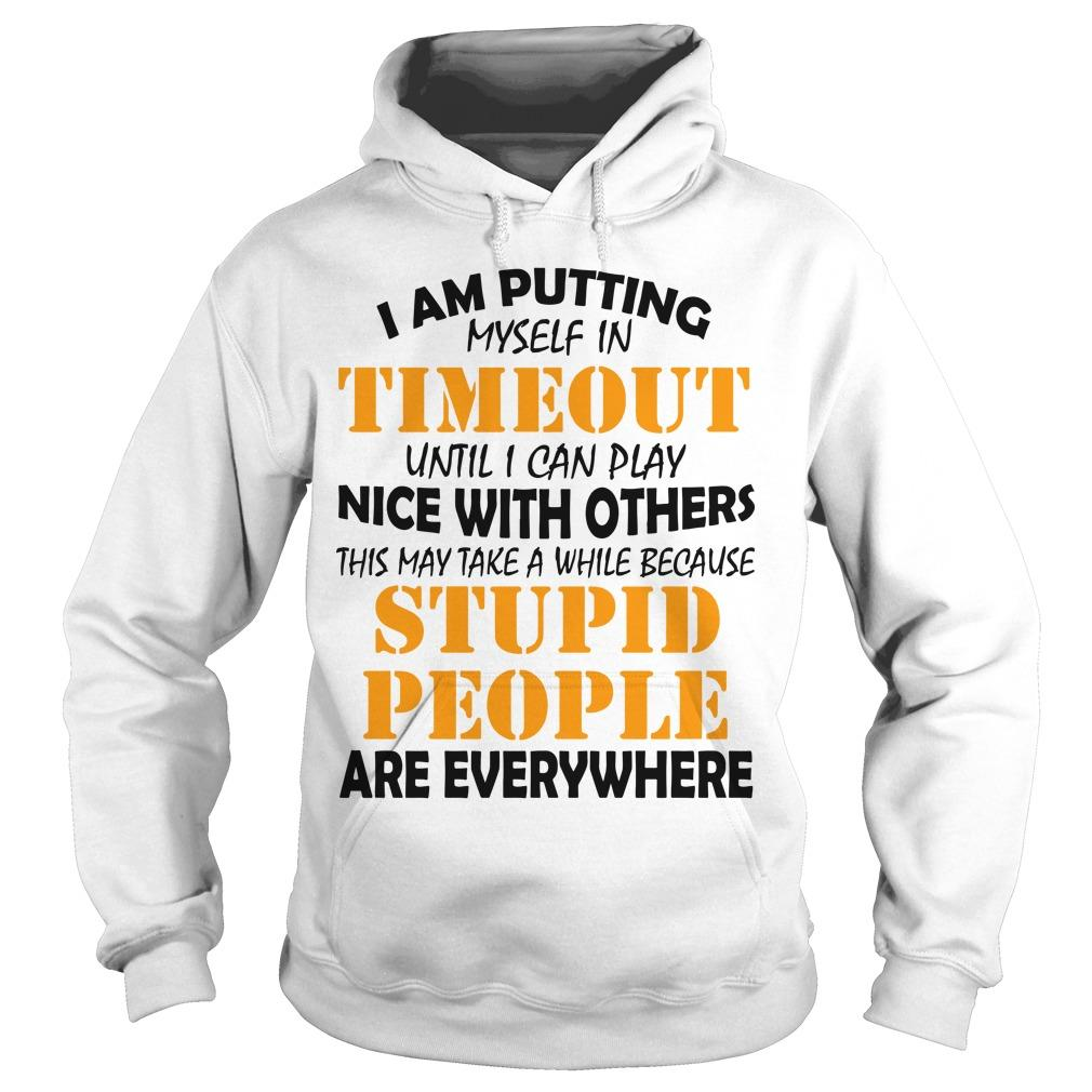 I Am Putting Myself In Timeout Until I Can Play Nice With Others Hoodie