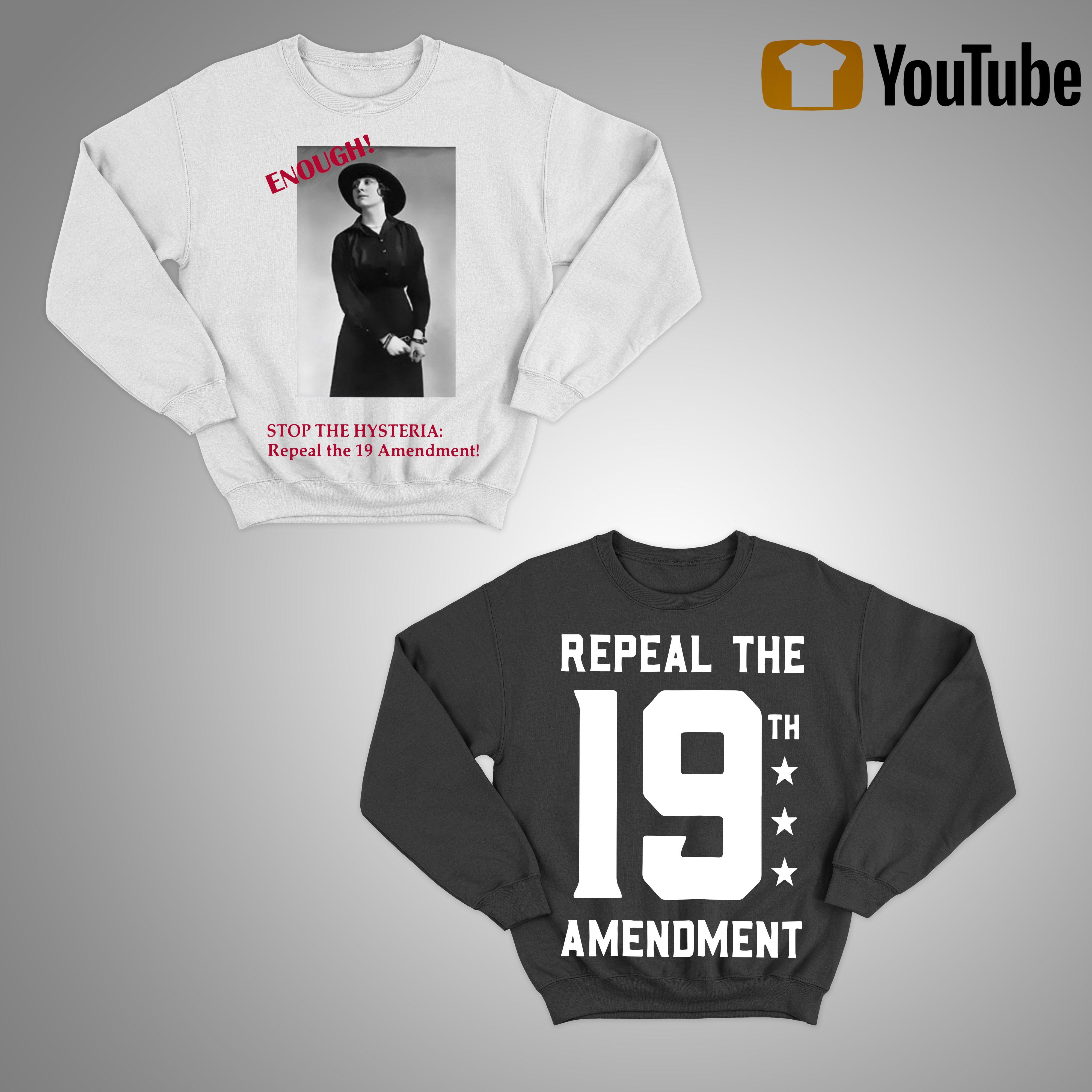 Repeal The 19th Amendment Sweater