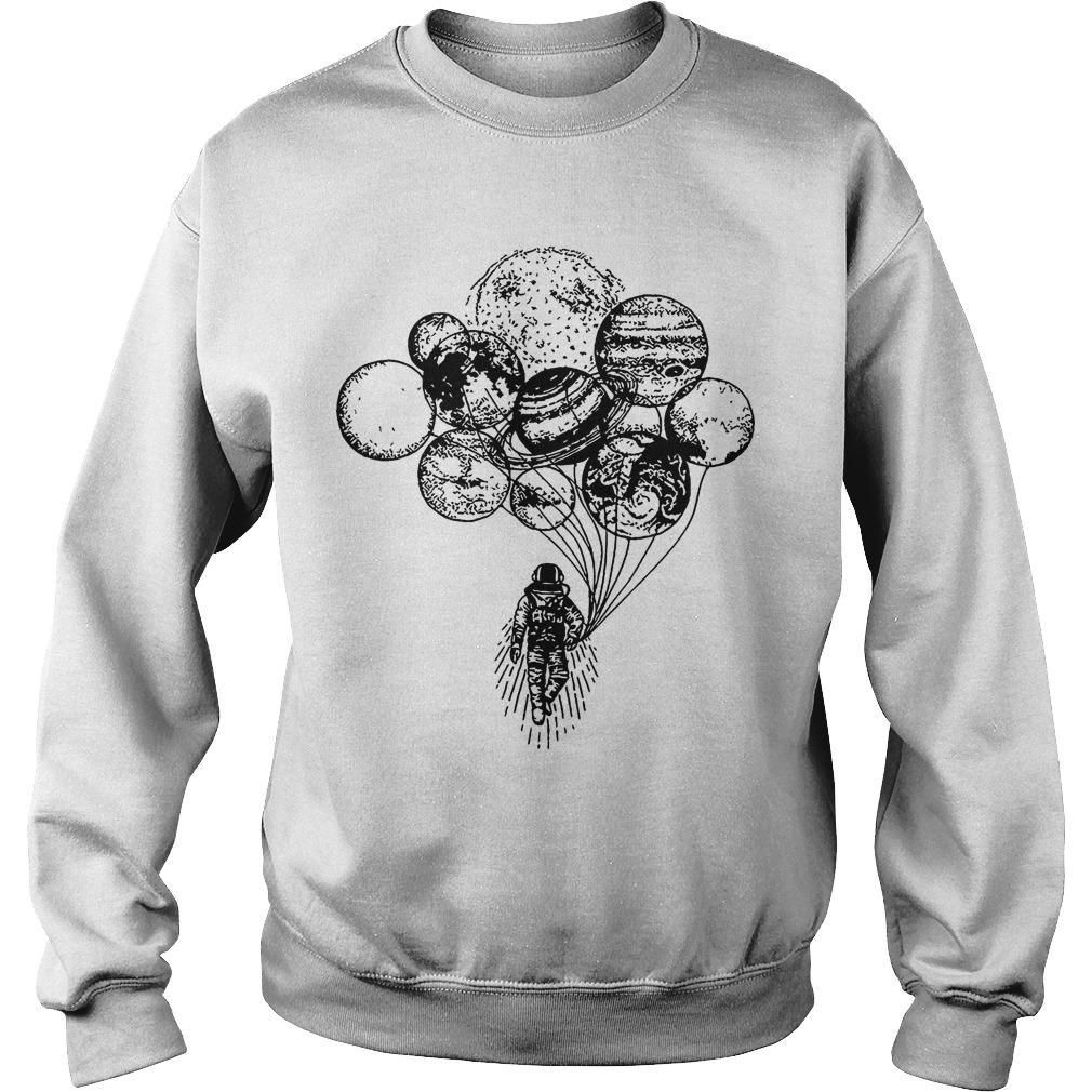 Solar Balloon Astronaut Sweater