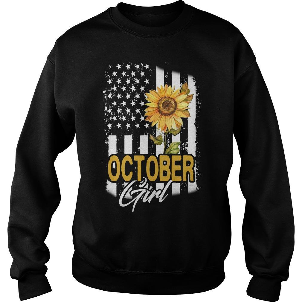 Sunflower Flag October Girl Sweater