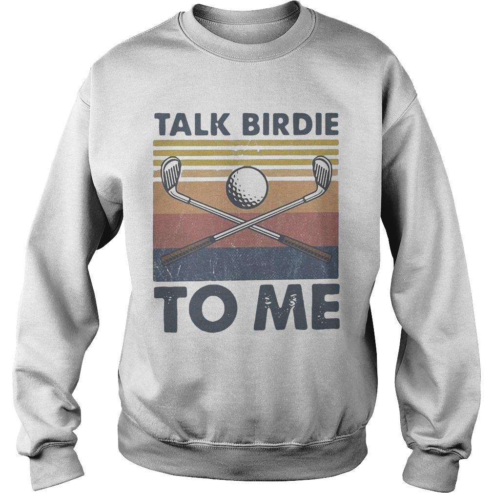 Vintage Talk Birdie To Me Sweater