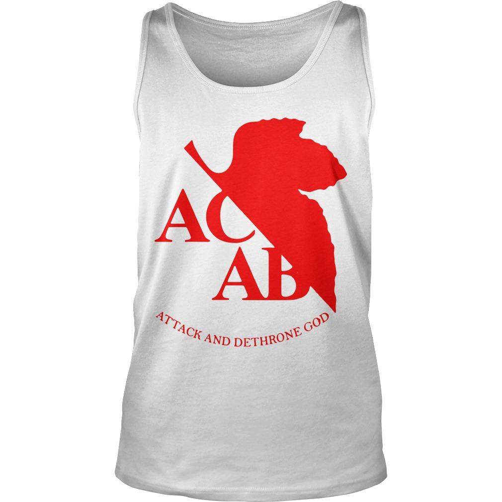 Acab Attack And Dethrone God Tank Top