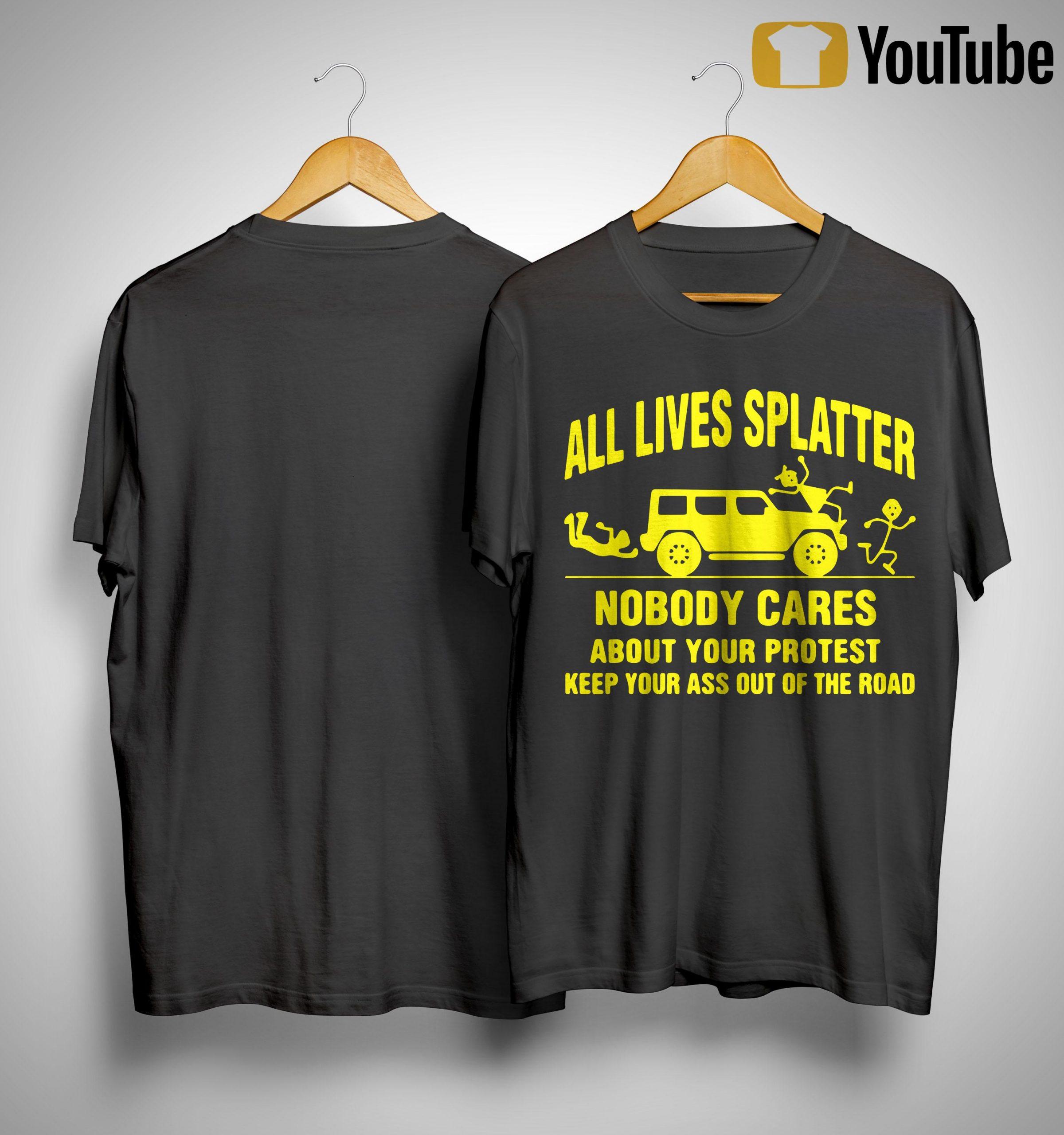 All Lives Splatter T Shirt