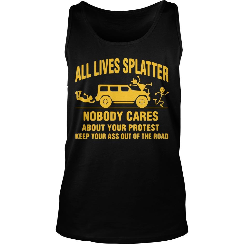 All Lives Splatter T Tank Top