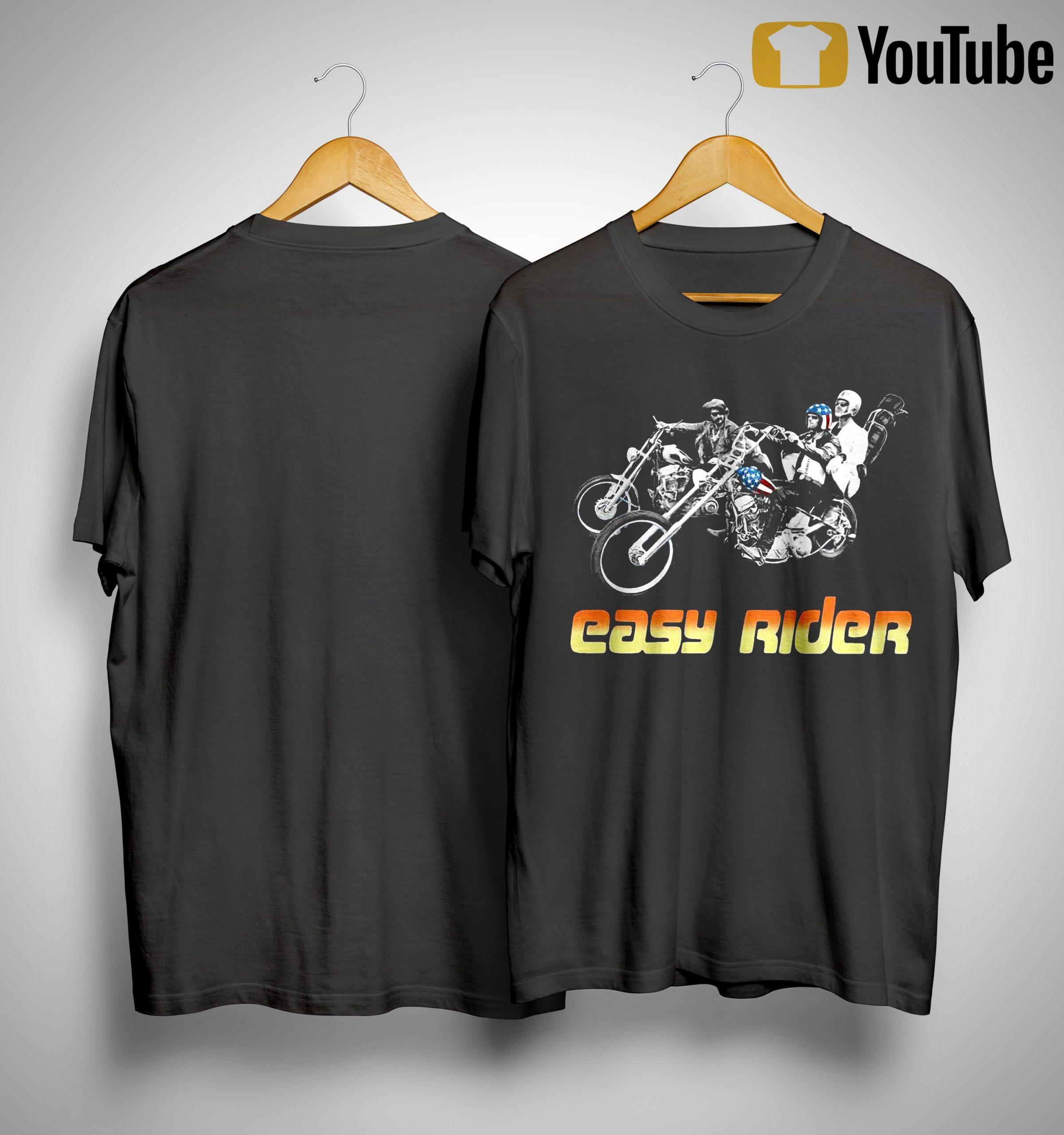 American Flag Easy Rider Shirt