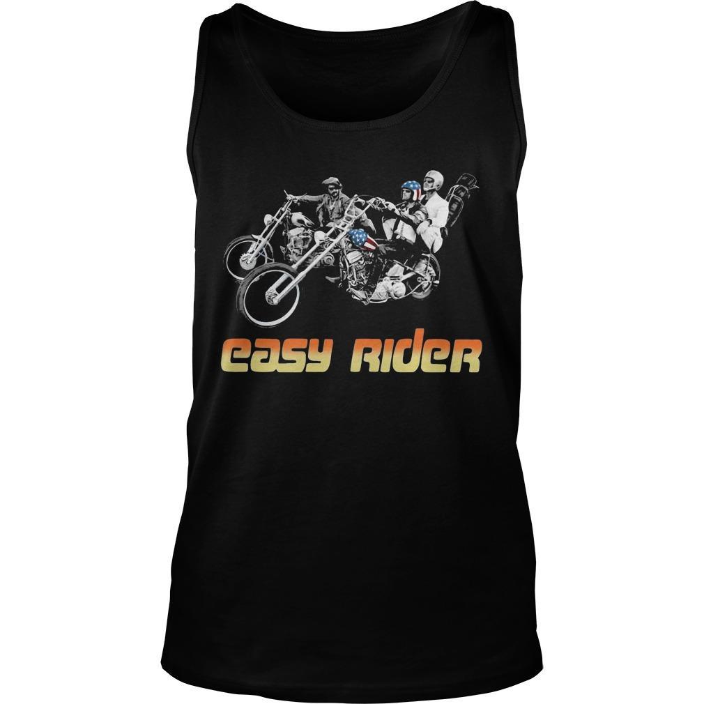 American Flag Easy Rider Tank Top