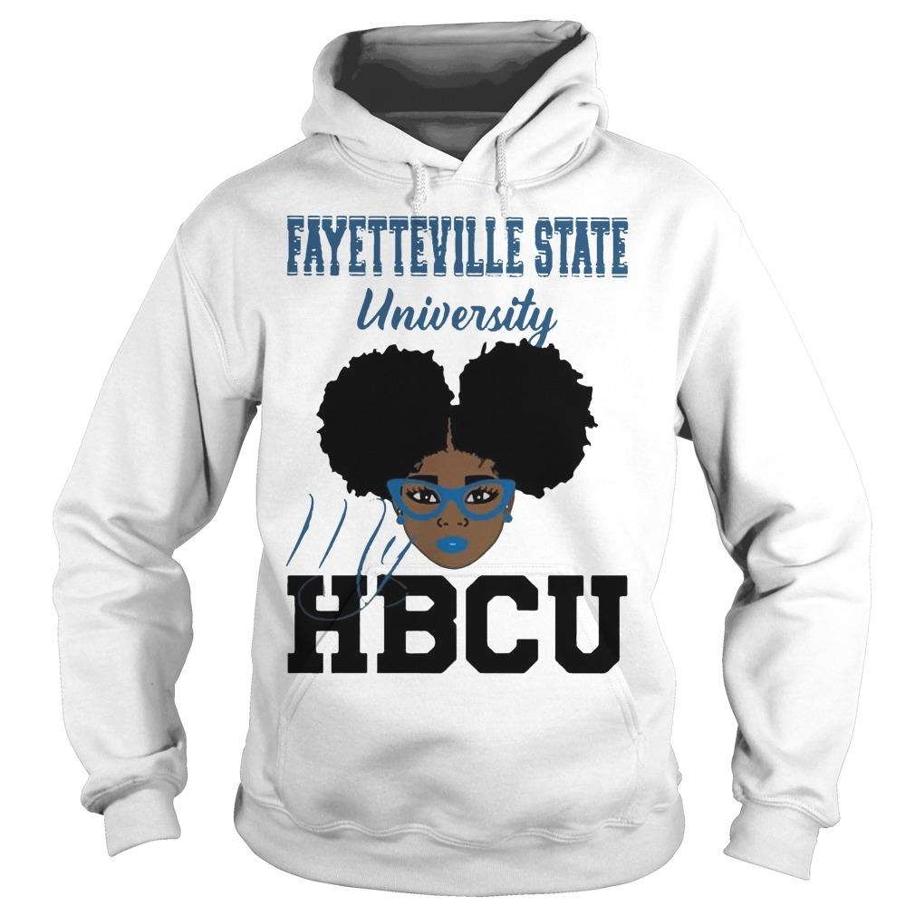 Black Girl Fayetteville State University My Hbcu Hoodie