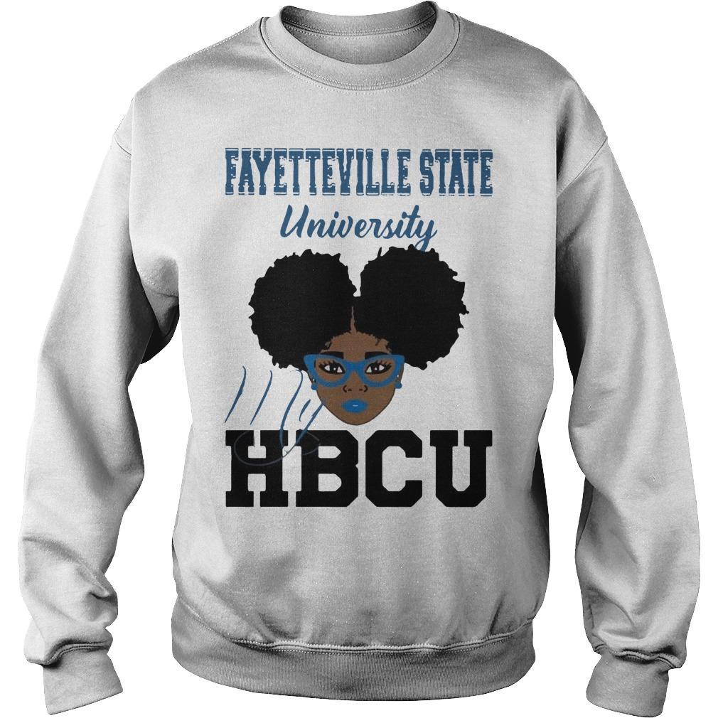 Black Girl Fayetteville State University My Hbcu Sweater