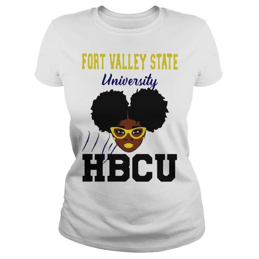 Black Girl Fort Valley State University My Hbcu Longsleeve