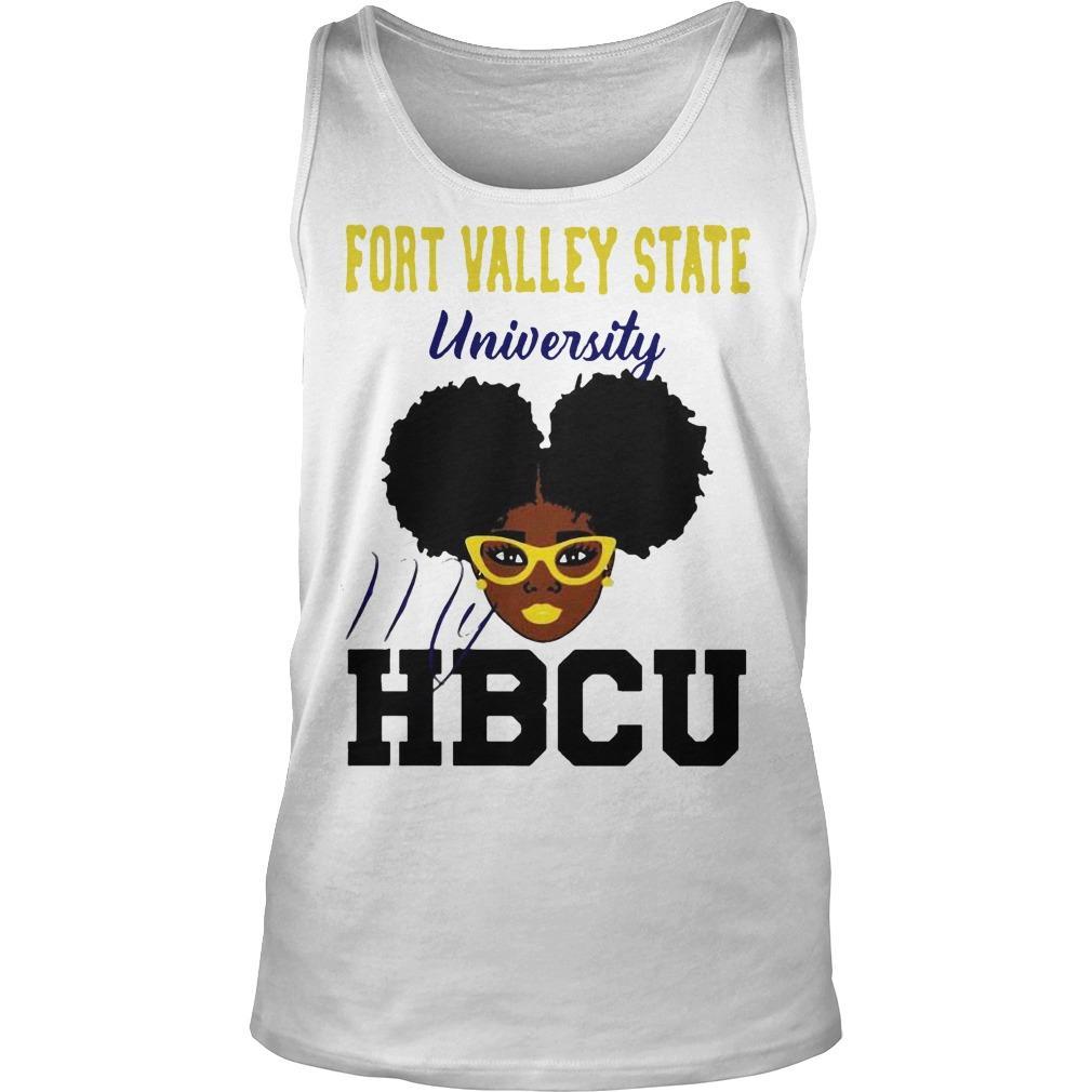 Black Girl Fort Valley State University My Hbcu Tank Top