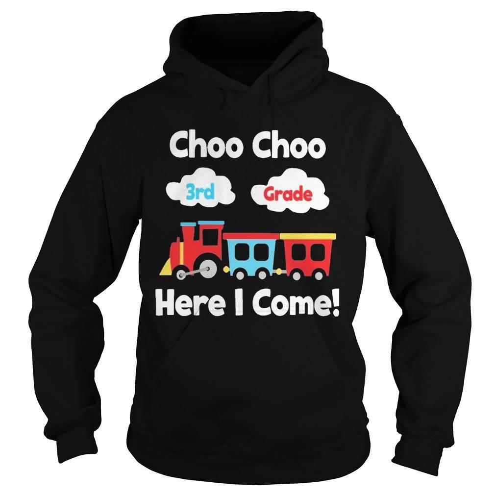 Choo Choo 8th Grade Here I Come Hoodie