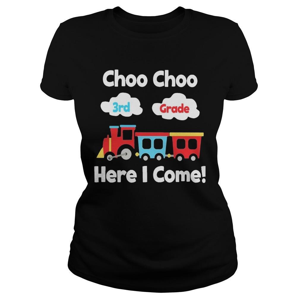 Choo Choo 8th Grade Here I Come Longsleeve
