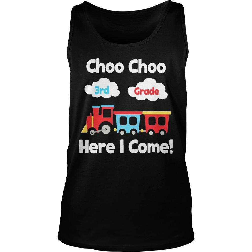 Choo Choo 8th Grade Here I Come Tank Top