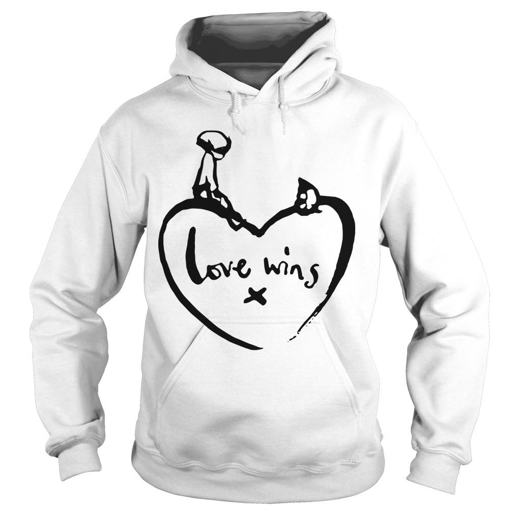 Comic Relief Love Wins T Hoodie