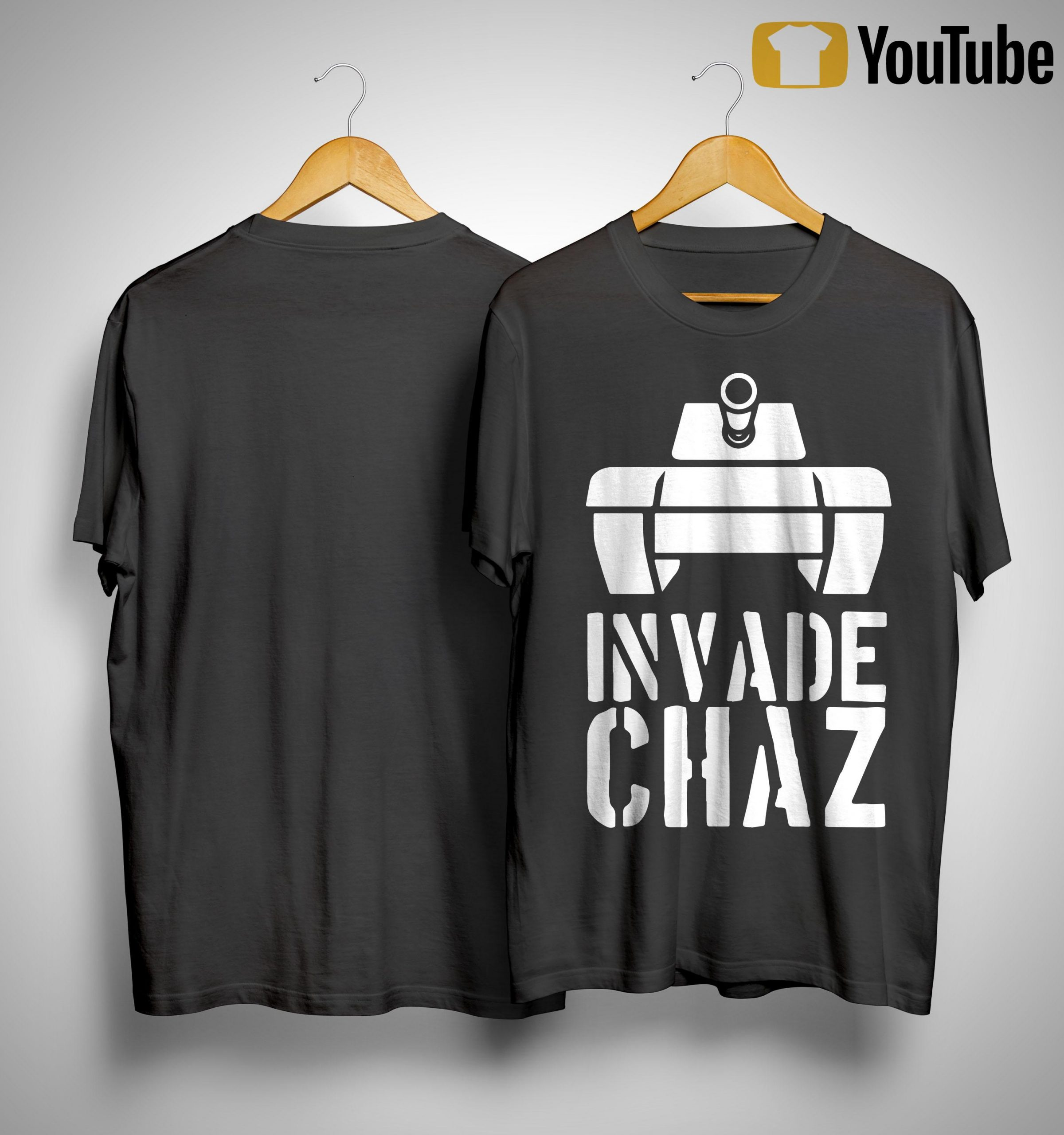 Conservative Daily Invade Chaz Shirt