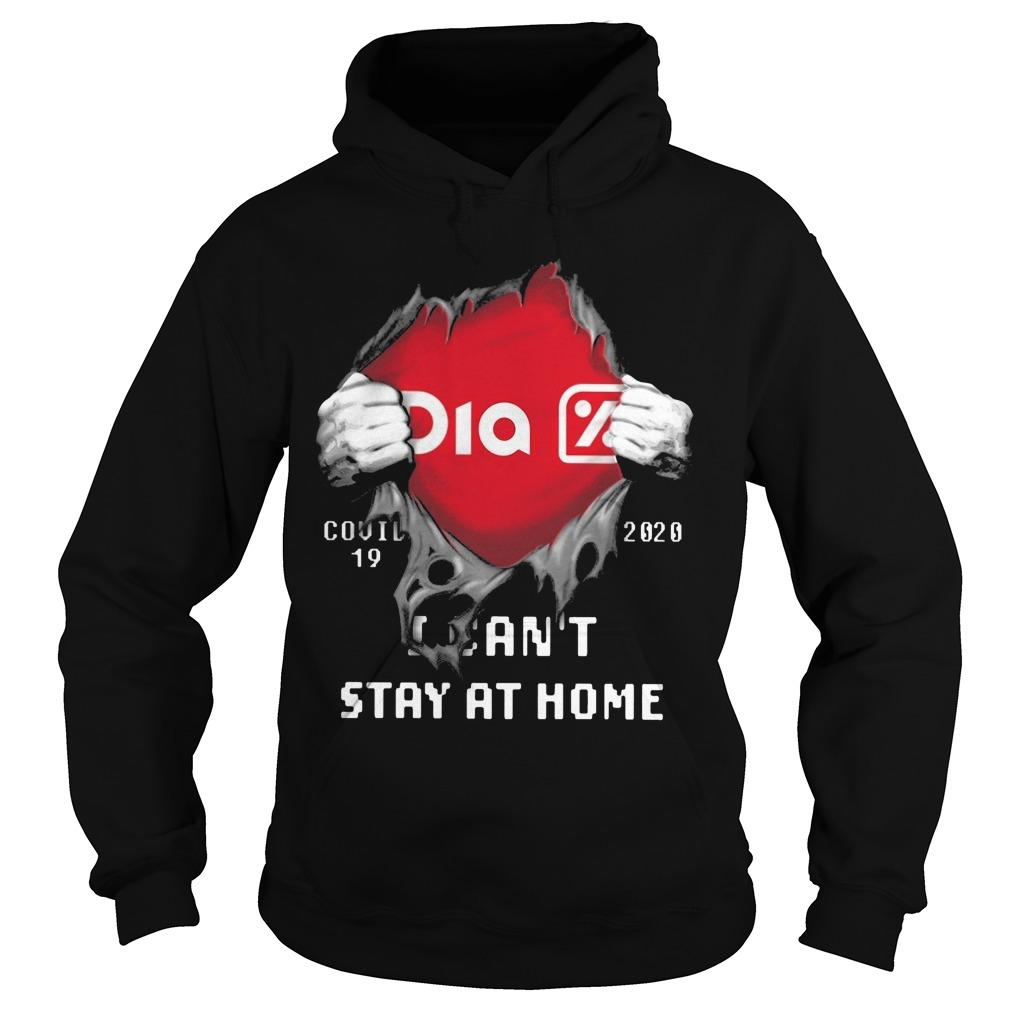 Dia Covid 19 2020 I Can't Stay At Home Hoodie