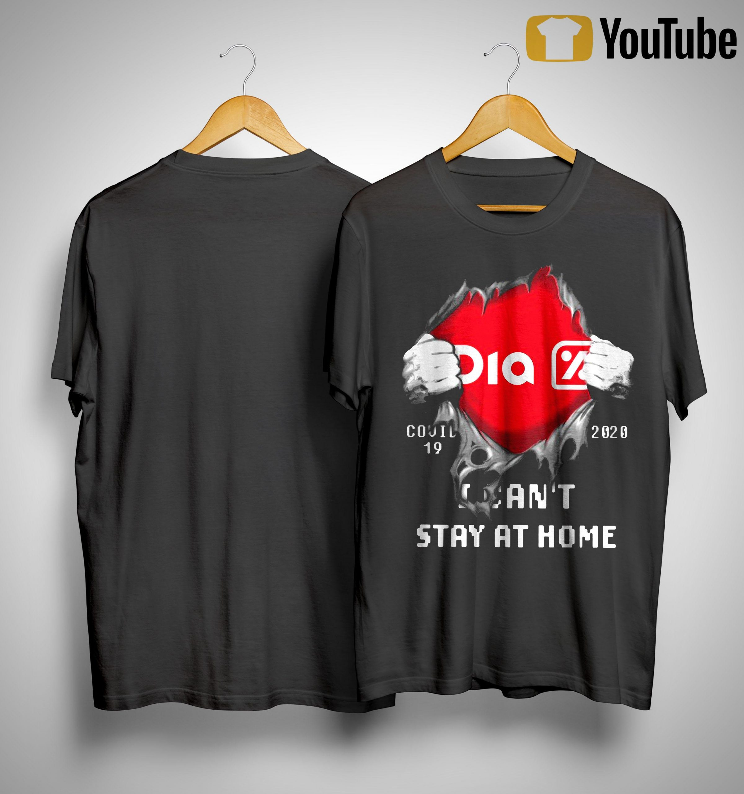 Dia Covid 19 2020 I Can't Stay At Home Shirt