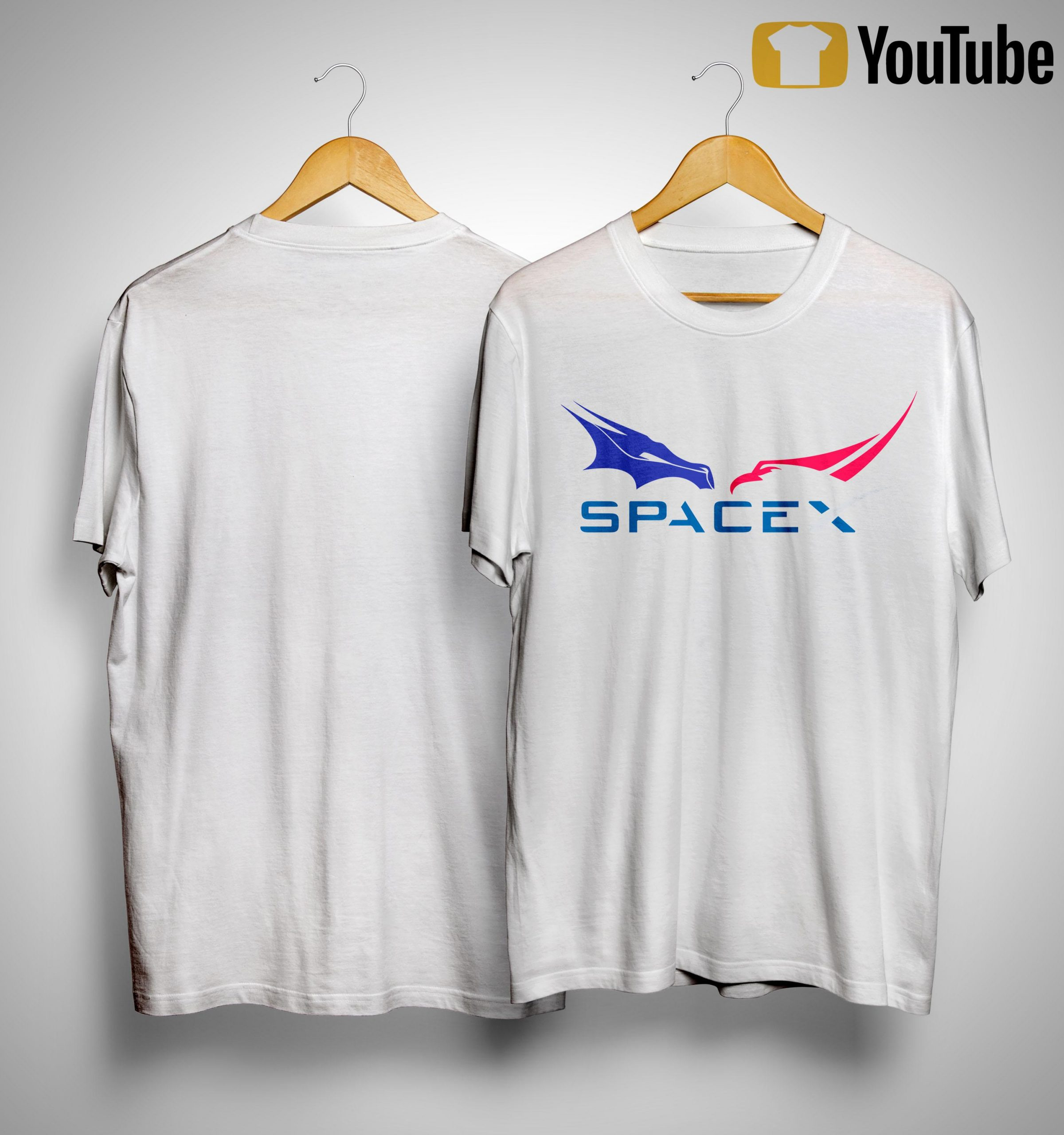 Dragon Falcon F9 Rocket Tesla Spacex Shirt