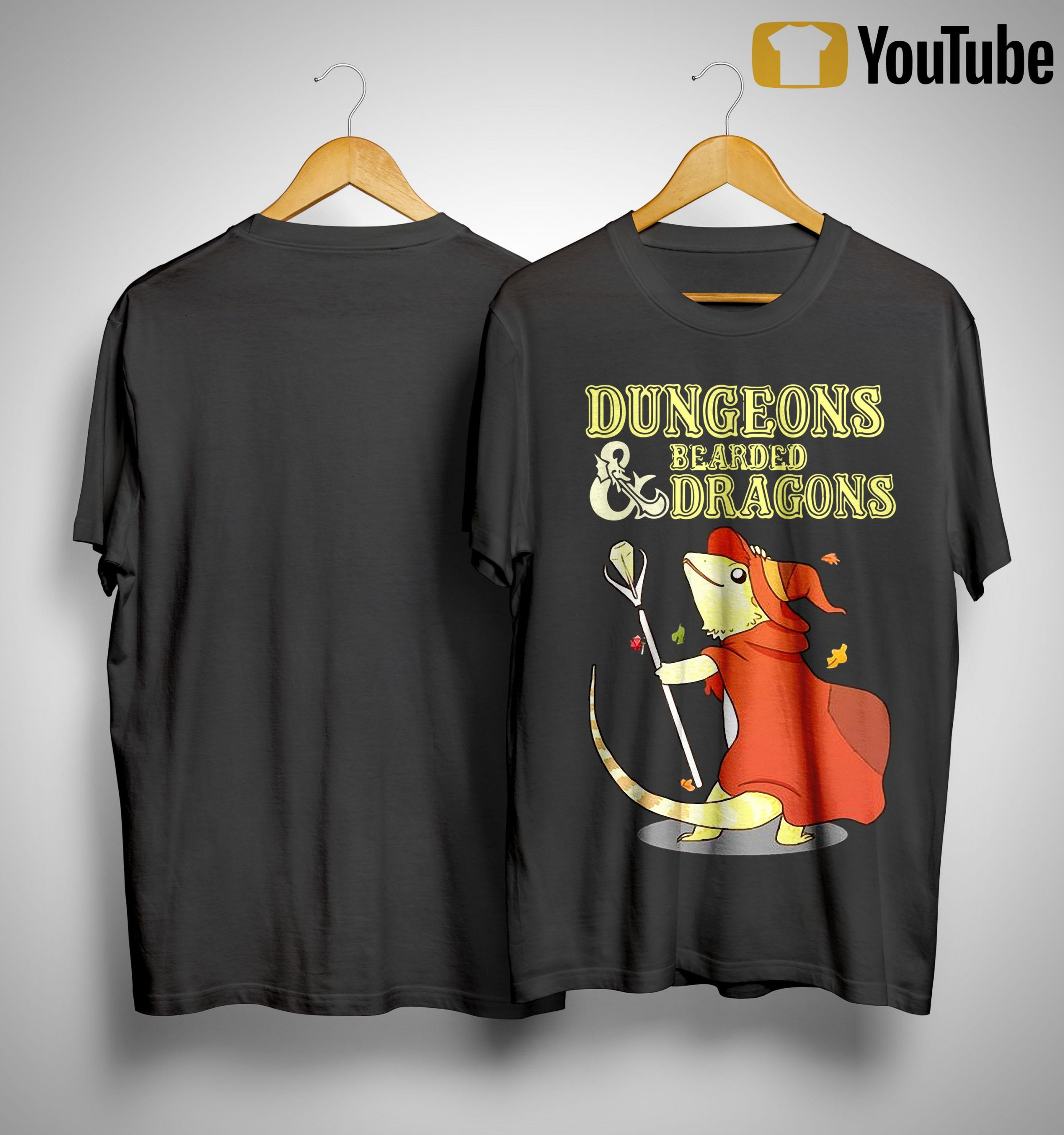 Dungeons And Bearded Dragons Shirt