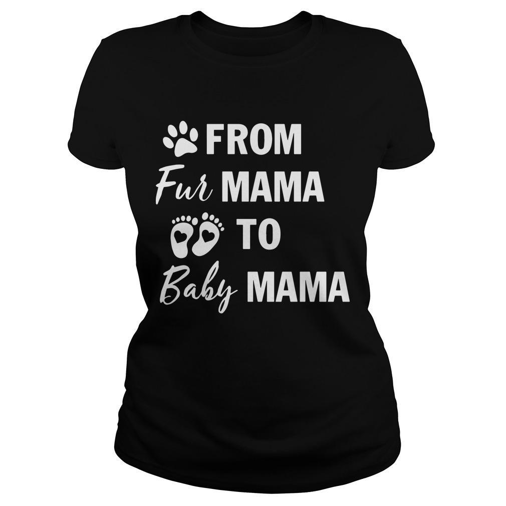From Fur Mama To Baby Mama Longsleeve