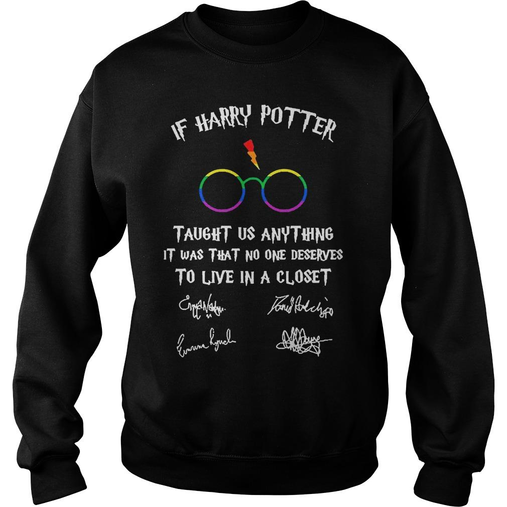 If Harry Potter Taught Us Anything It Was That No One Deserves To Live In A Closet Sweater