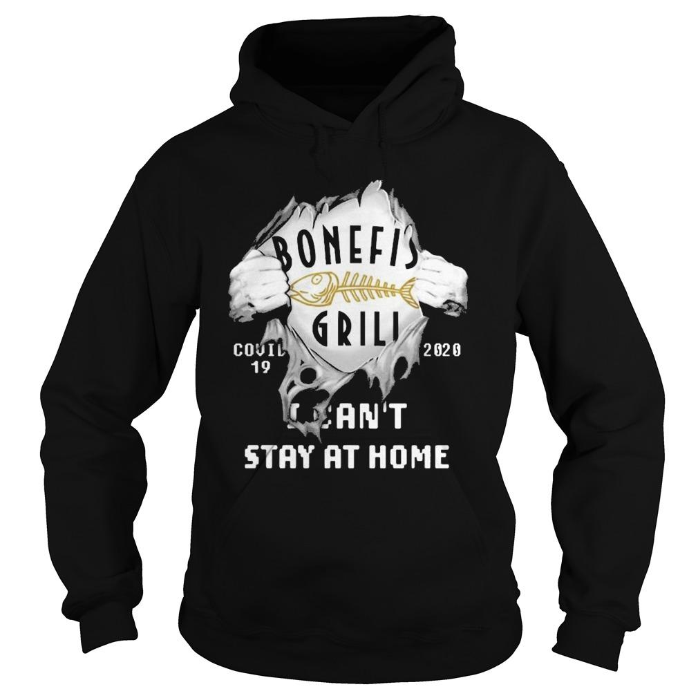 Inside Me Bonefish Grill Covid 19 2020 I Can't Stay At Home Hoodie