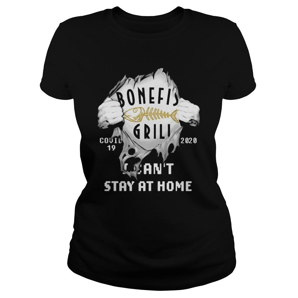 Inside Me Bonefish Grill Covid 19 2020 I Can't Stay At Home Longsleeve
