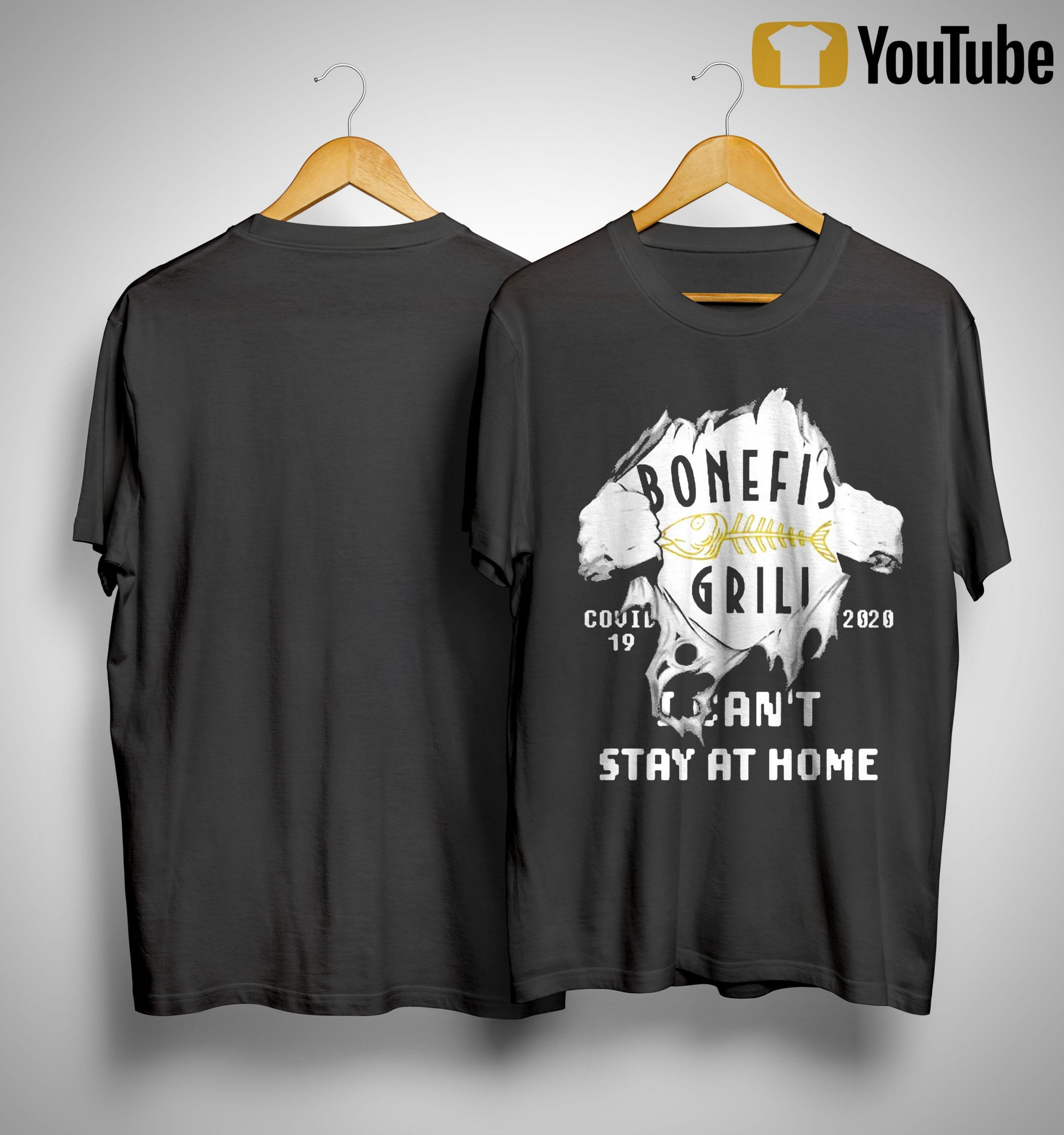 Inside Me Bonefish Grill Covid 19 2020 I Can't Stay At Home Shirt