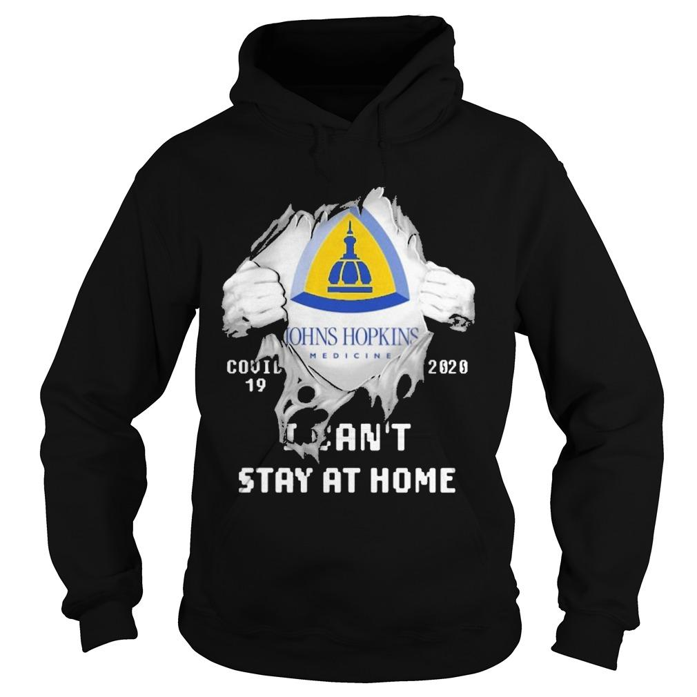 Inside Me Johns Hopkins Medicine Covid 19 2020 I Can't Stay At Home Hoodie