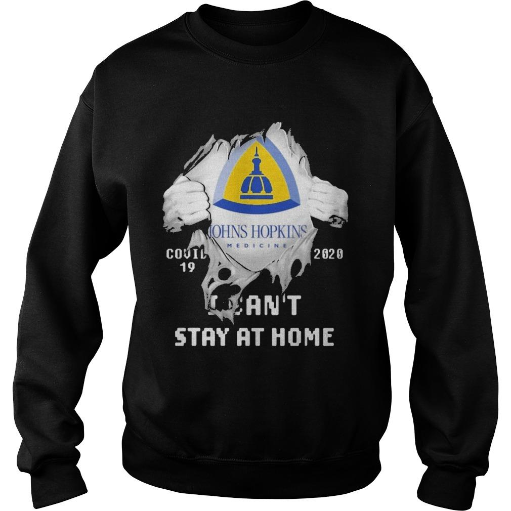 Inside Me Johns Hopkins Medicine Covid 19 2020 I Can't Stay At Home Sweater
