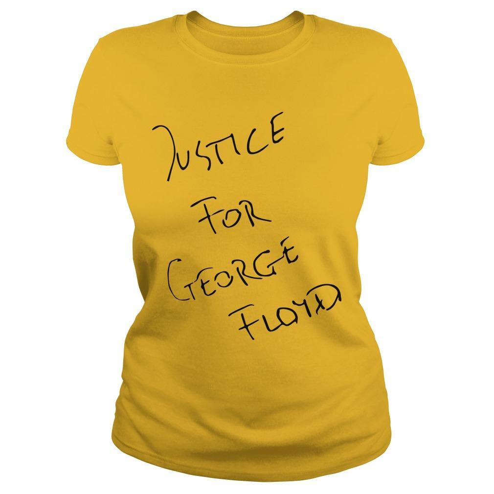 Jadon Sancho Justice For George Floyd Longsleeve