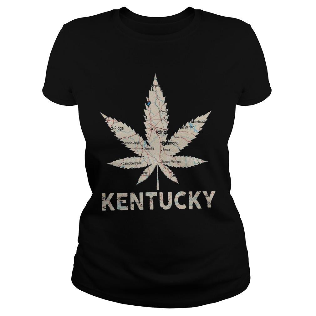 Map Weed Kentucky Longsleeve