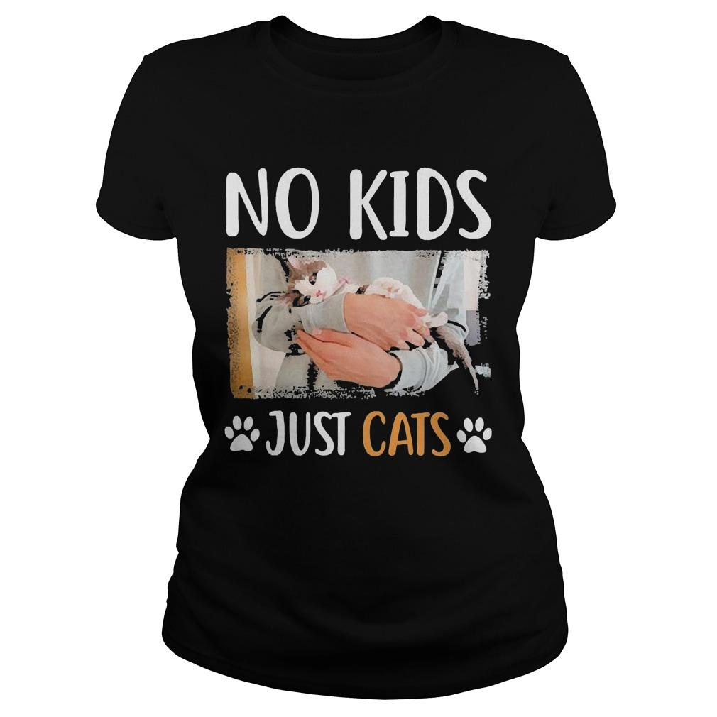 No Kids Just Cats Longsleeve
