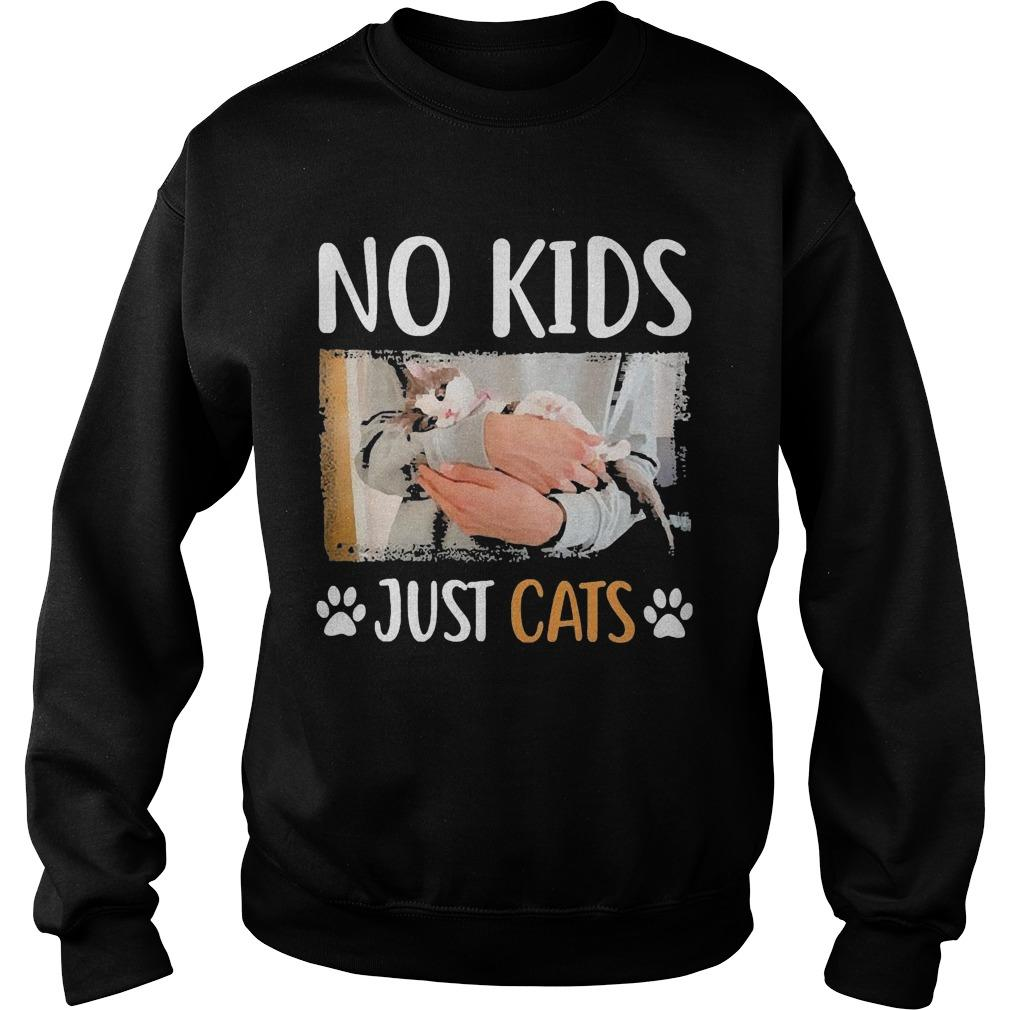 No Kids Just Cats Sweater