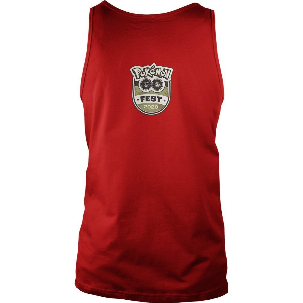 Pokemon Go Fest 2020 Tank Top