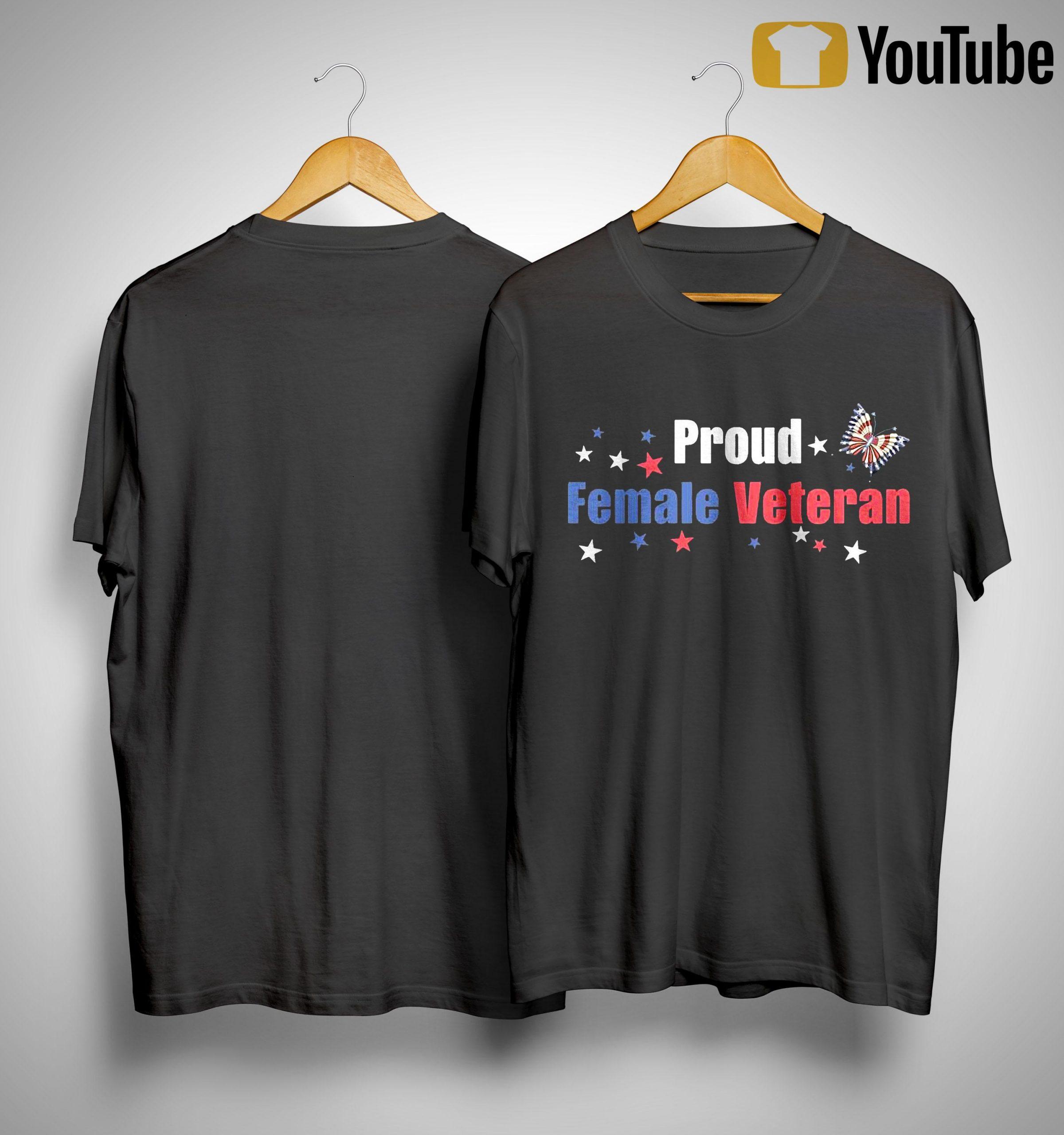 Proud Female Veteran Shirt