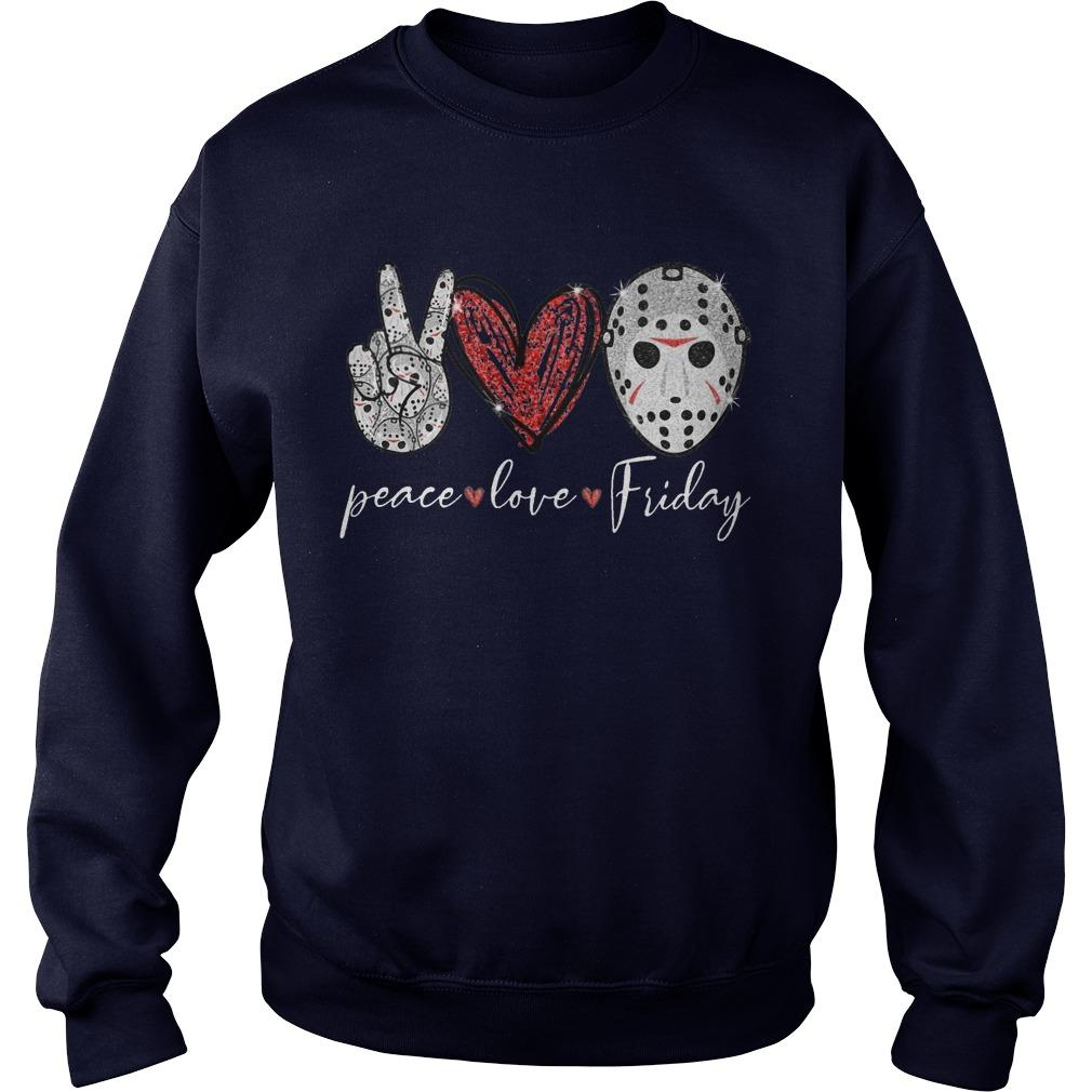 Saw Peace Love Friday Sweater