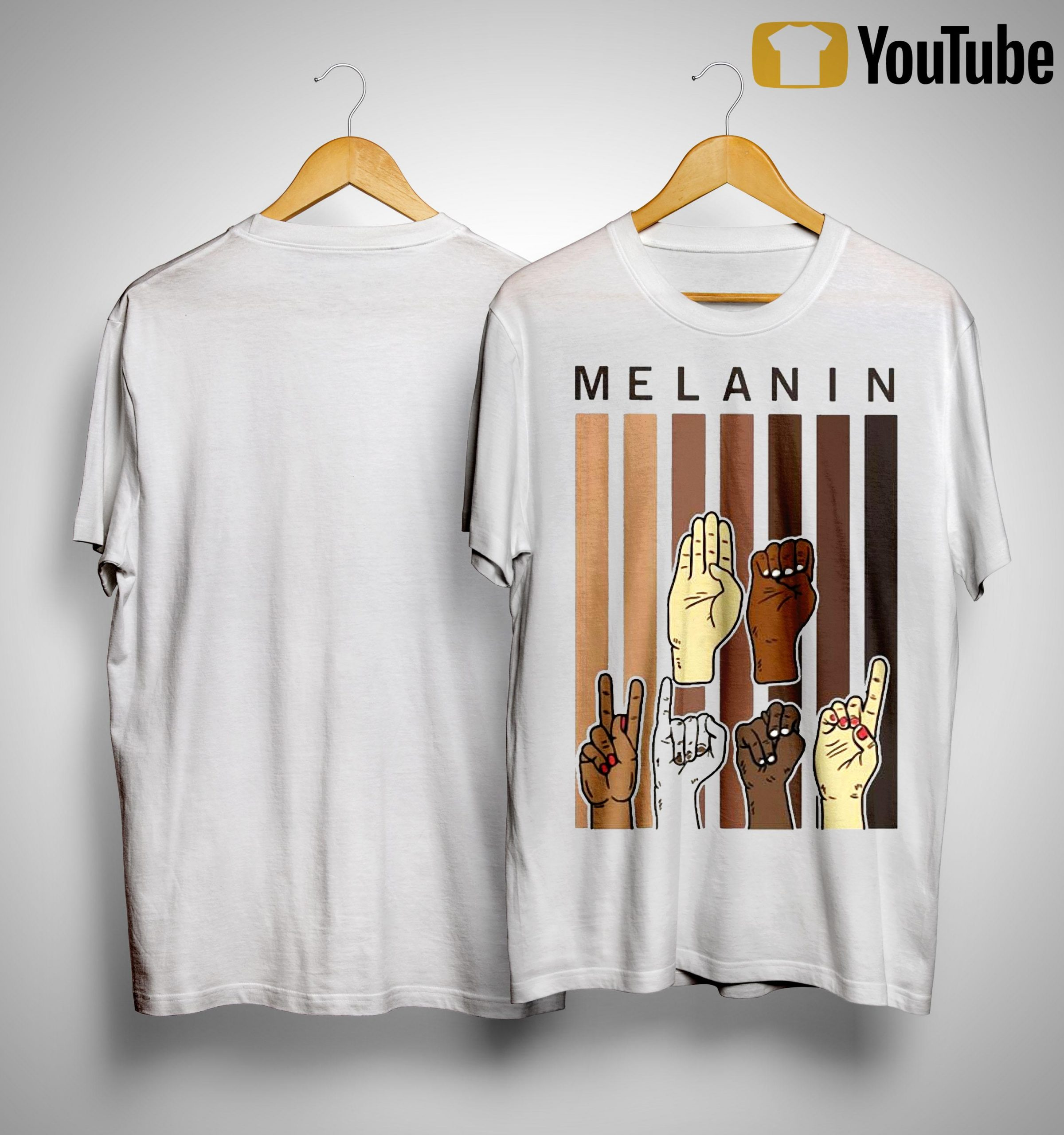 Sign Language Hands Melanin Shirt