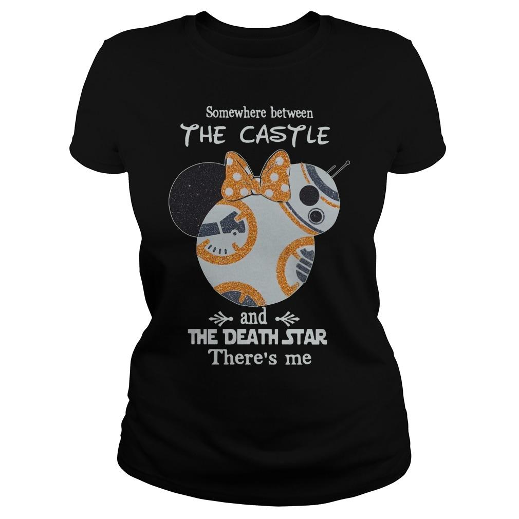 Somewhere Between The Castle And The Death Star There's Me Longsleeve